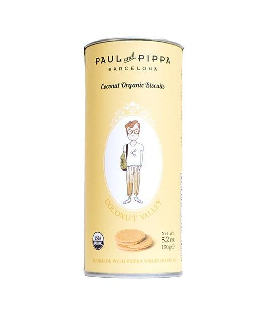 Biscuits bio à la noix de coco - Paul & Pippa