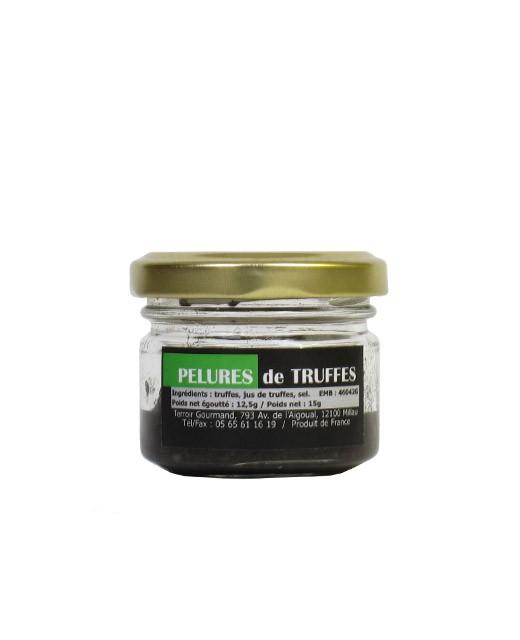 Pelures de truffes noires - Truffe France