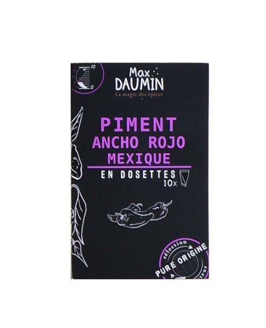 Piment Ancho Rojo du Mexique - dosettes fraîcheur - Max Daumin