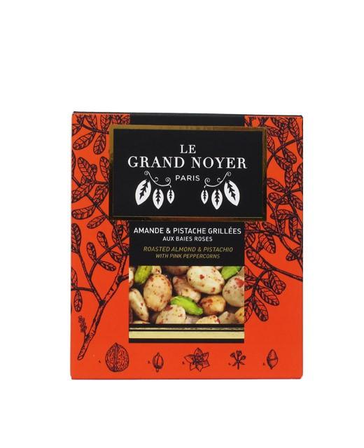 Pistache et amande grillées aux baies roses - Le Grand Noyer