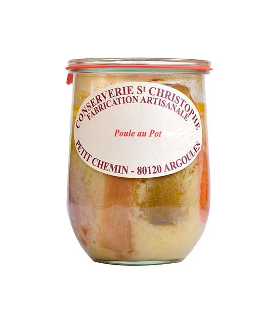 Plat cuisiné Poule au pot - Conserverie Saint-Christophe