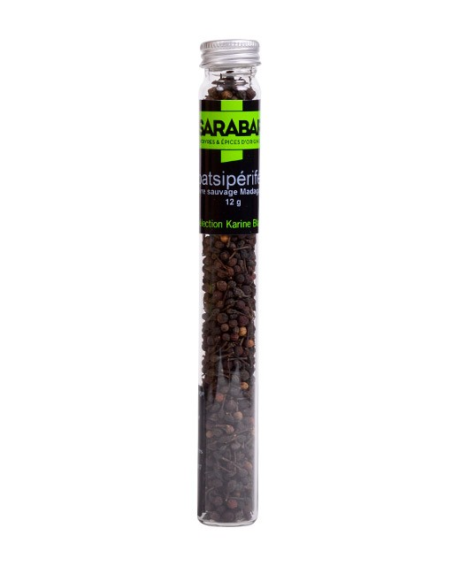 Poivre noir sauvage Voatsiperifery - Sarabar