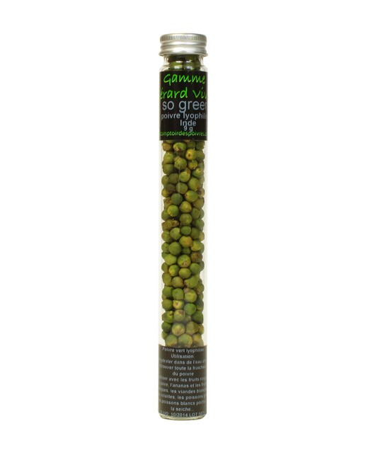 Poivre vert lyophilisé - Sarabar