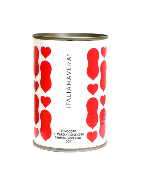 Tomates pelées - variété San Marzano AOP - Italianavera