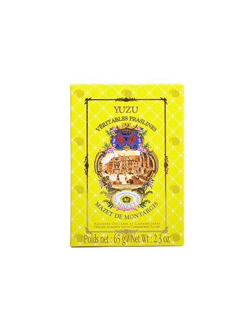 Praslines au yuzu - Mazet