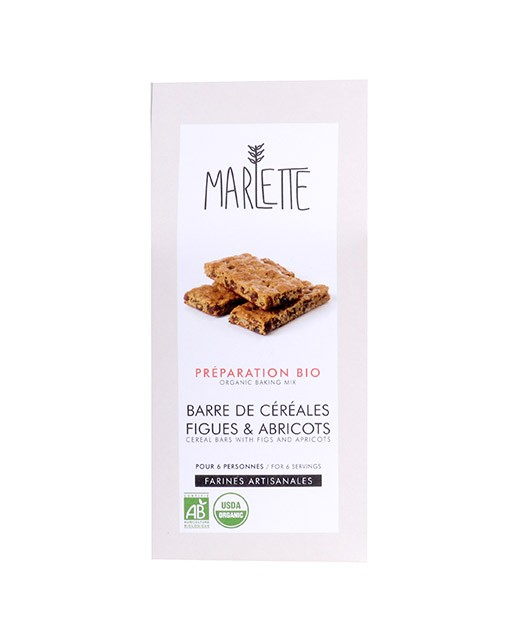 Préparation bio pour Barres de céréales aux figues et abricots - Marlette