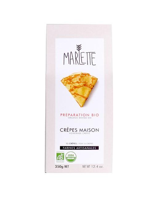 Préparation bio pour crêpes maison - Marlette