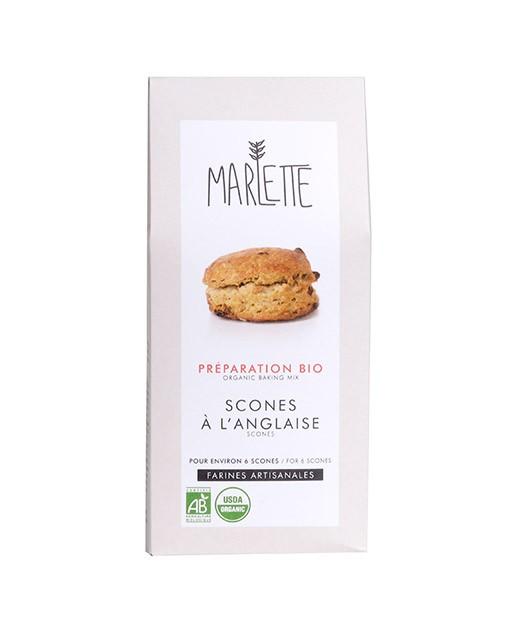 Préparation bio pour Scones à l'anglaise - Marlette