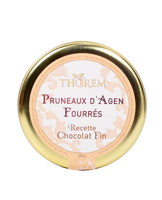 Pruneaux fourrés au Chocolat fin - Thorem