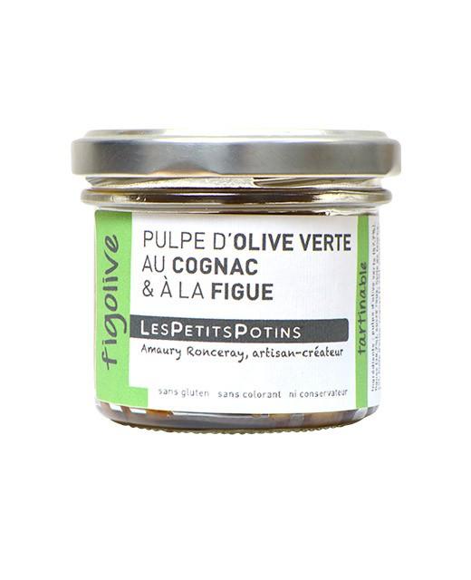 Pulpe d'olive verte au cognac et à la figue - Figolive - Les Petits Potins