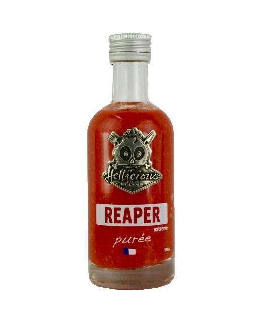 Purée de piment Carolina Reaper - Hellicious