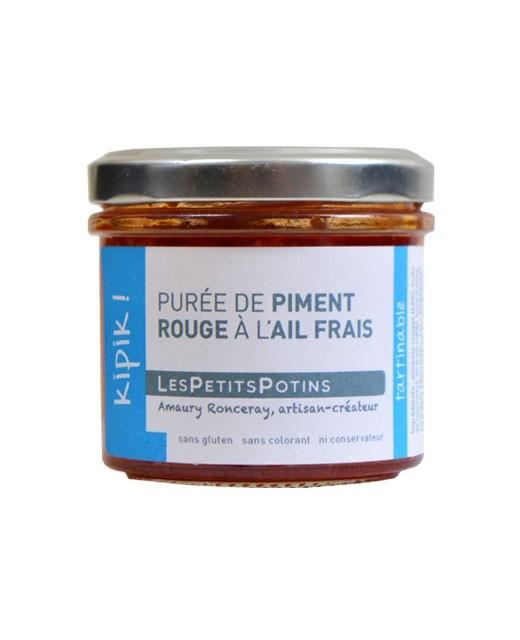 Purée de piment rouge à l'ail frais - Kipik - Les Petits Potins