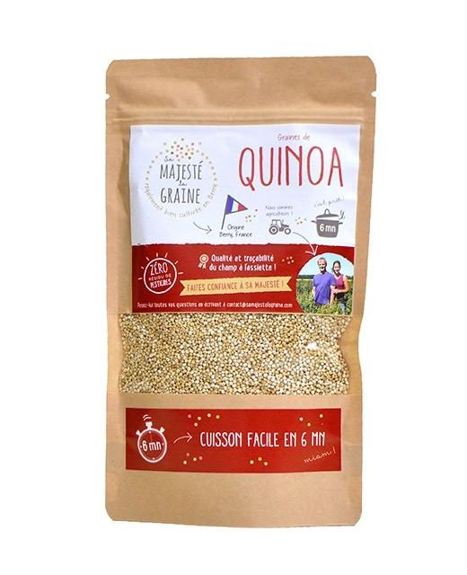 Quinoa - Sa majesté la graine