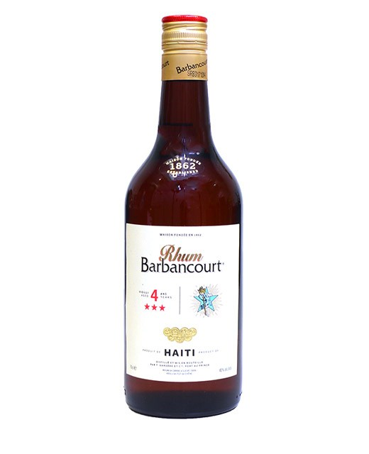 Rhum Barbancourt 4 ans - 3 étoiles - Barbancourt