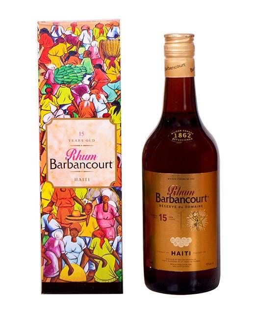 Rhum Barbancourt 15 ans - Barbancourt