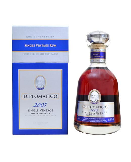 Rhum Diplomatico - Single Vintage 2005 - Diplomatico