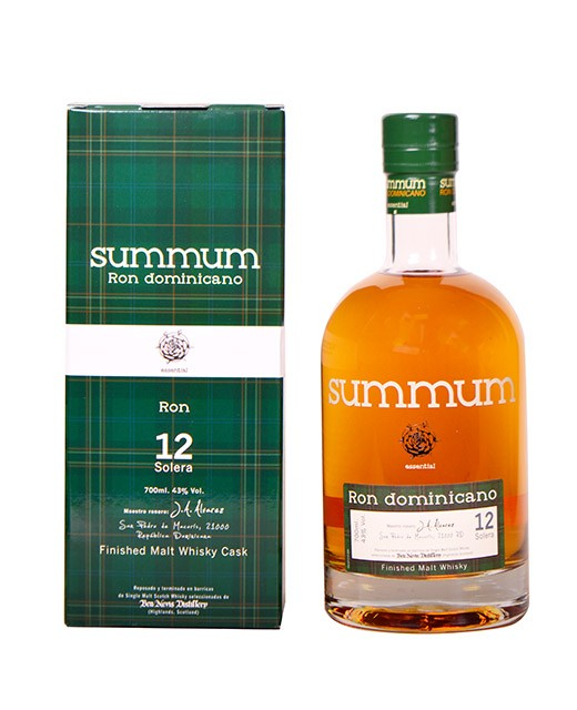 Rhum Summum 12 ans finition malt whisky - Summum
