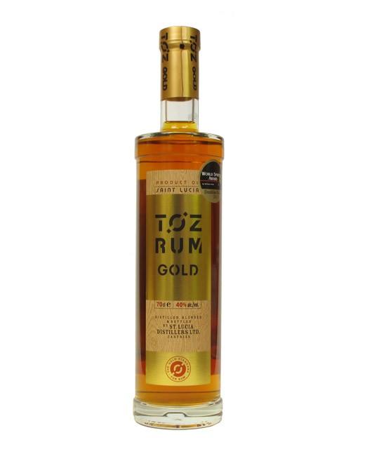 Rhum Toz Gold - Saint Lucia Distillers