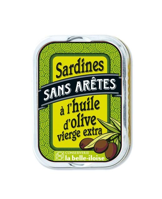 Sardines sans arêtes à l'huile d'olive - Belle-Iloise (La)