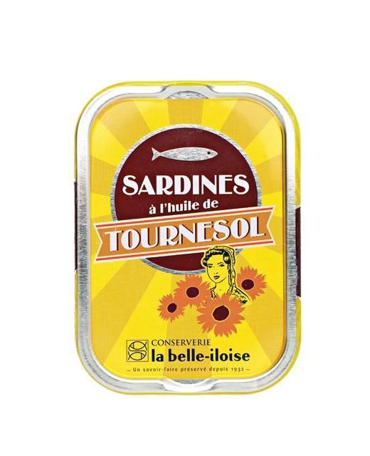 Sardines à l'huile de tournesol - Belle-Iloise (La)