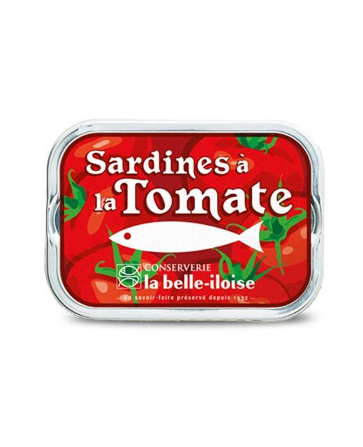 Sardines à l'huile de tournesol et à la tomate - La Belle-Iloise