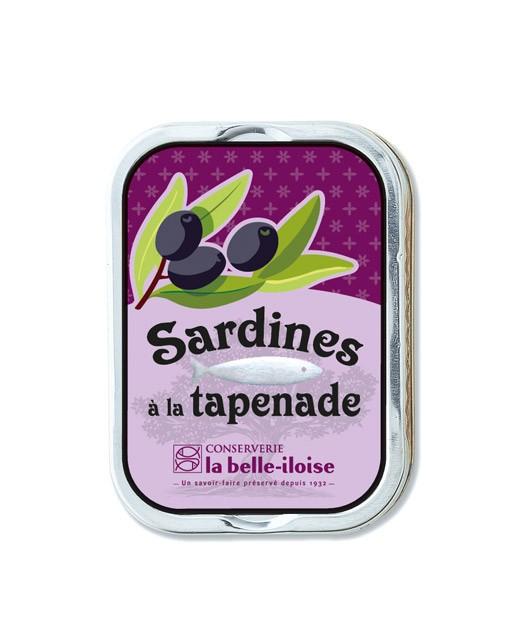 Sardines à la tapenade - La Belle-Iloise
