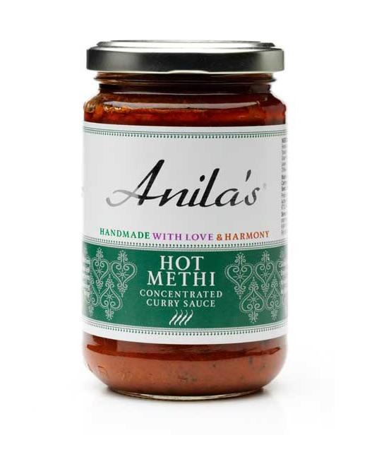 Sauce Methi épicée - Anila's