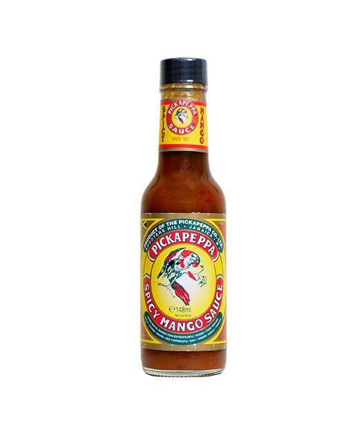 Sauce piquante sucrée-salée Spicy Mango Pickapeppa - Pickapeppa