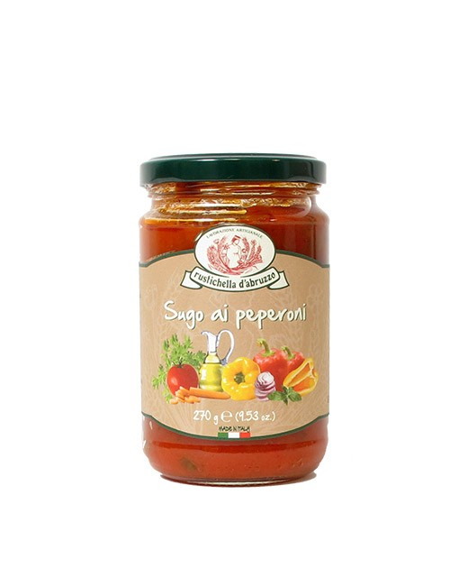 Sauce tomate aux poivrons - Rustichella d'Abruzzo