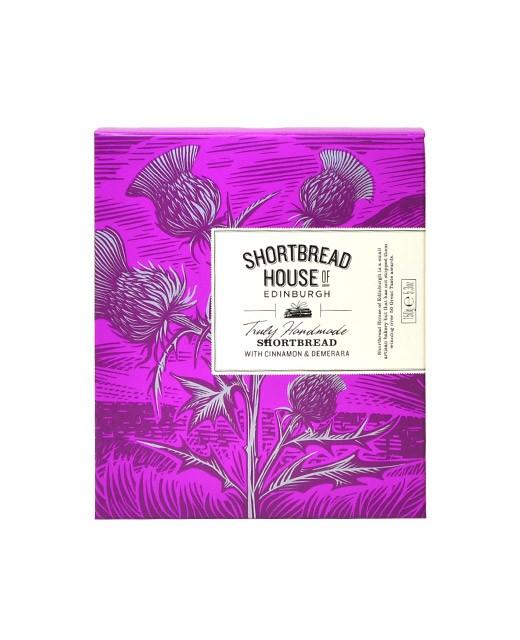 Shortbread Cannelle et Sucre Demerara - Shortbread House of Edinburgh