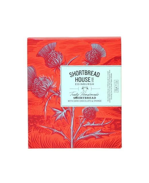 Shortbread Chocolat et Orange - Shortbread House of Edinburgh
