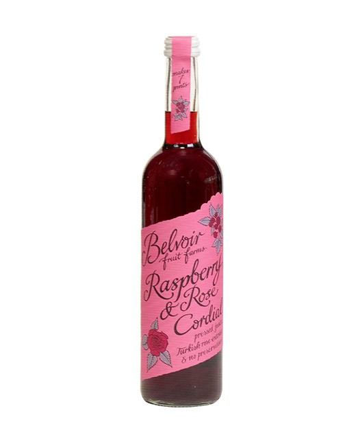 Sirop de framboise à la rose - Belvoir Fruit Farms