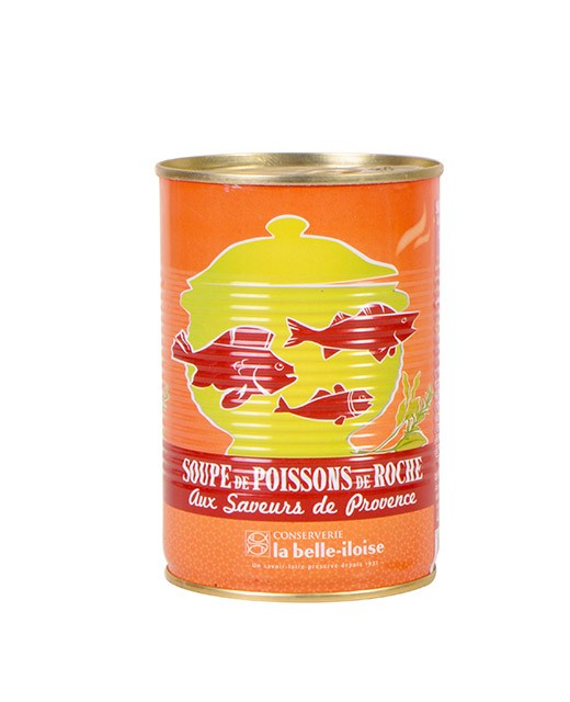 Soupe de poissons de roche aux saveurs de Provence - Belle-Iloise (La)