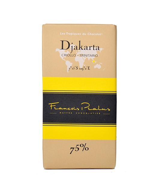 Tablette chocolat noir Djakarta - Pralus