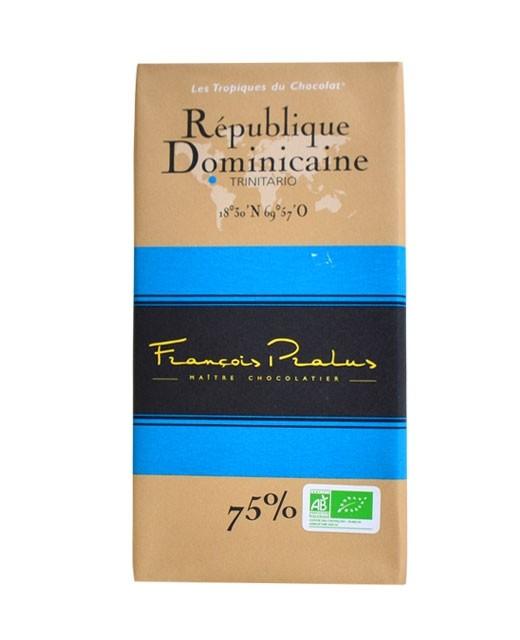 Tablette chocolat noir République Dominicaine bio - Pralus