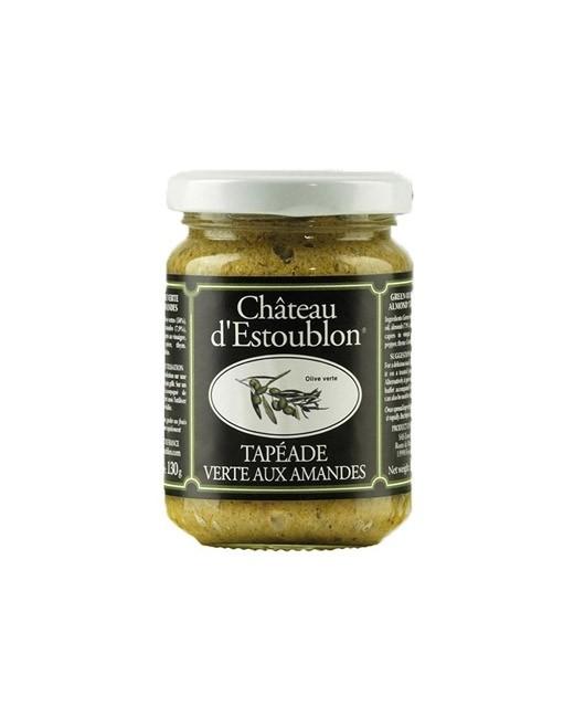 Tapéade verte aux amandes  - Château d'Estoublon