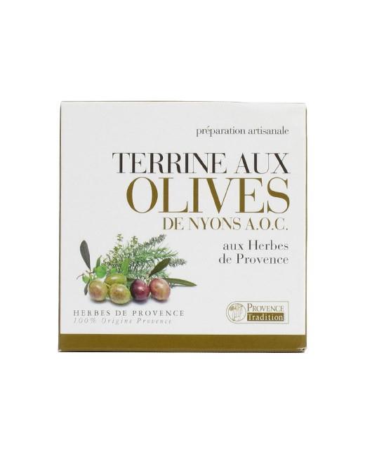 Terrine aux Olives de Nyons AOC et aux Herbes de Provence - Provence Tradition