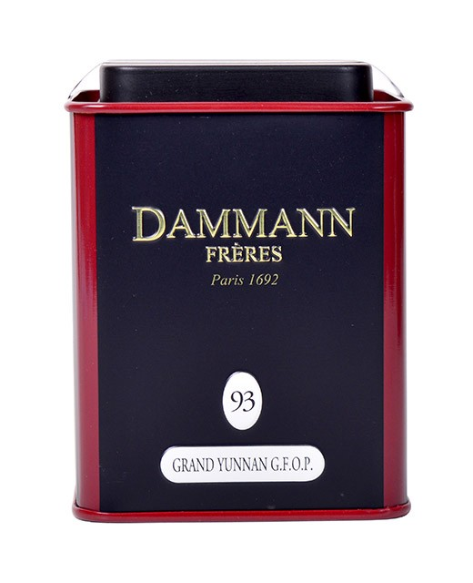 Thé Grand Yunnan G.F.O.P - Dammann Frères