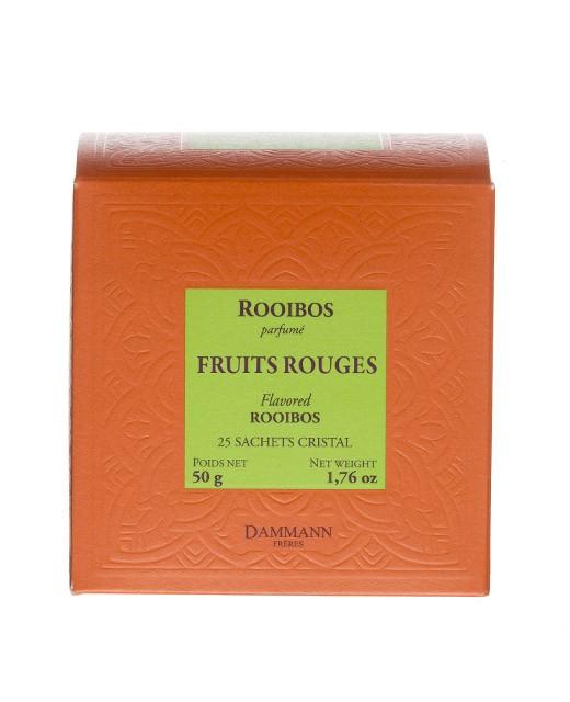 Thé Rooibos Fruits Rouges - sachet cristal - Dammann Frères