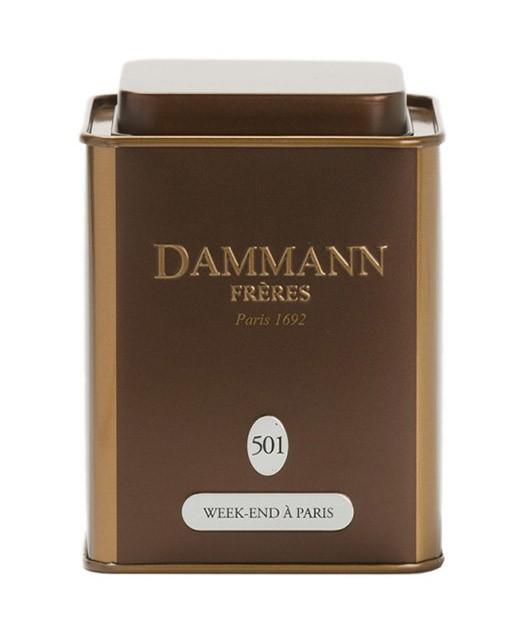 Thé Week-end à Paris - Dammann Frères