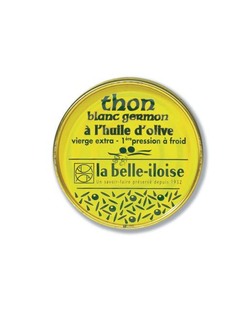 Thon blanc germon à l'huile d'olive vierge extra - La Belle-Iloise