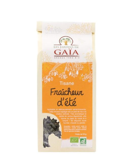 Tisane Fraîcheur d'été - Les Jardins de Gaïa