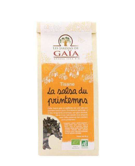 Tisane La salsa du printemps - Les Jardins de Gaïa