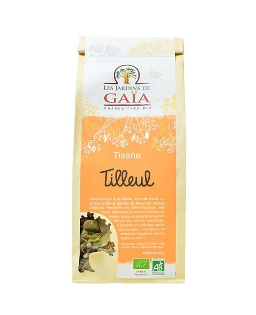 Tisane Tilleul - Les Jardins de Gaïa