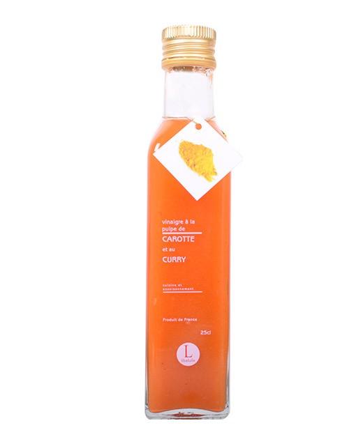Vinaigre à la pulpe de carotte et au curry - Libeluile