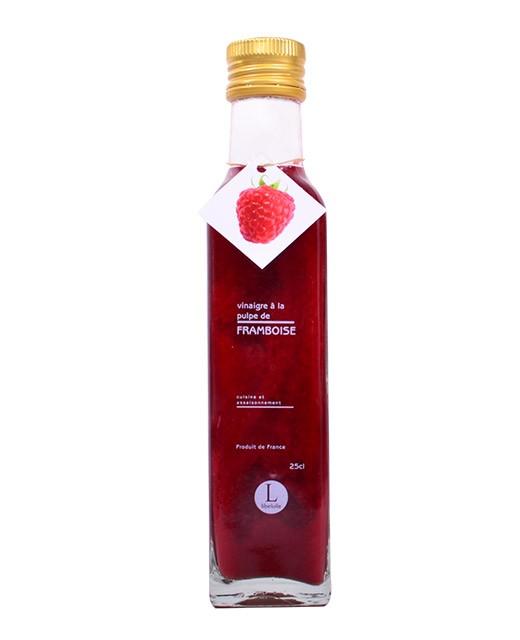 Vinaigre à la pulpe de framboise - Libeluile