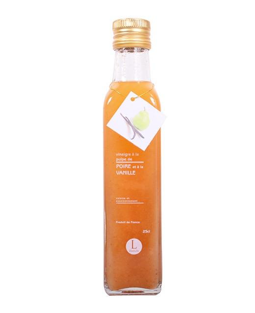 Vinaigre à la pulpe de poire et à la vanille - Libeluile