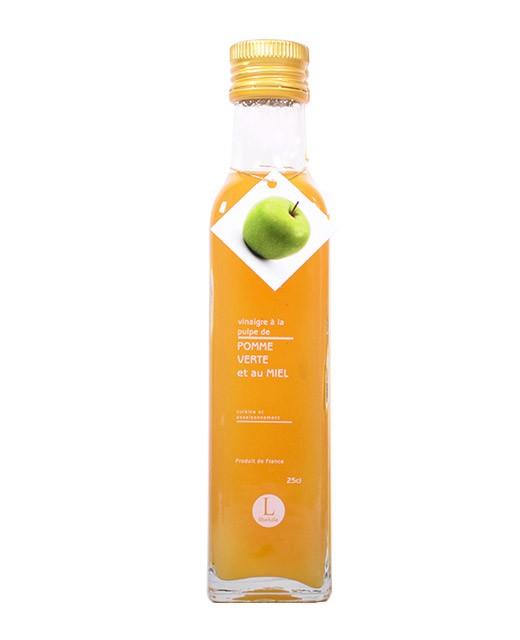 Vinaigre à la pulpe de pomme et au miel - Libeluile
