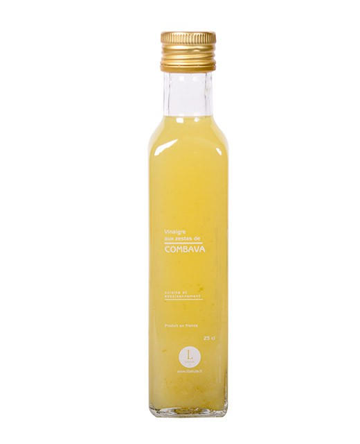 Vinaigre aux zestes de Combava - Libeluile