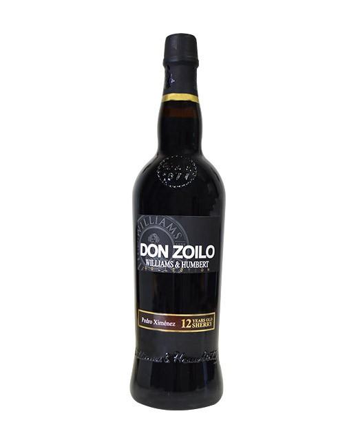 Pedro Ximénes - Xérès 12 ans sherry - vin rouge - W&H Collection